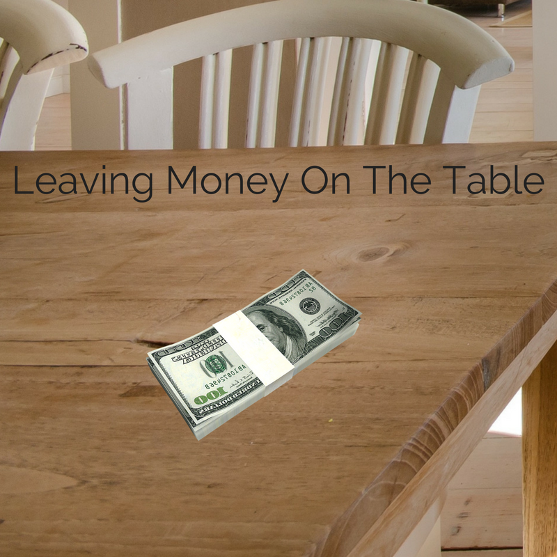 Leaving The Table