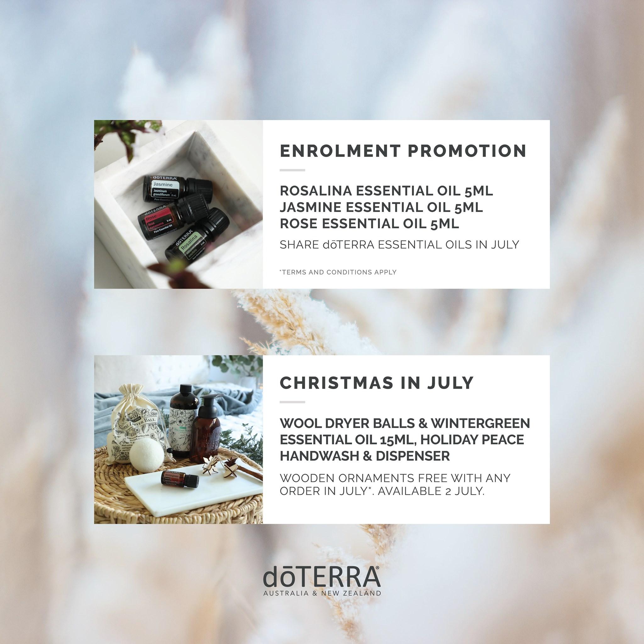 Doterra Christmas 2020 doTERRA's July 2020 Promotions   Ben Balden